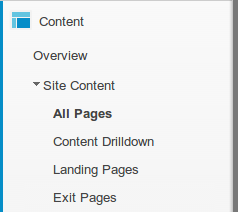 google-analytics-navigate-all-pages